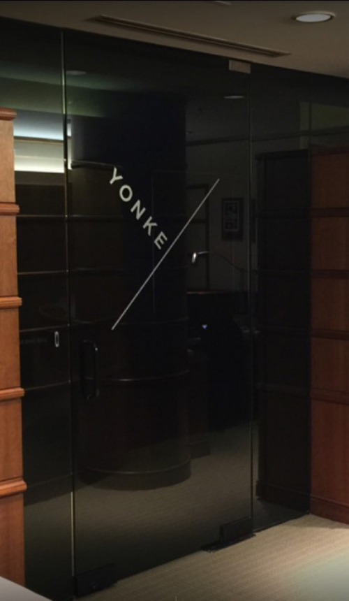 Yonke Office Door