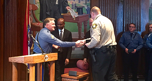 Missouri Law Enforcement Officers Receive Medal Of Valor