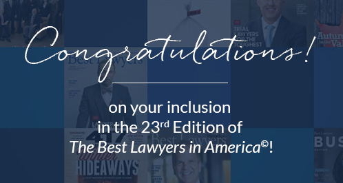 Best Lawyers® Recognizes Mike Yonke