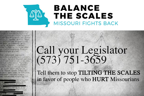 Balance The Scales: Missouri Fights Back