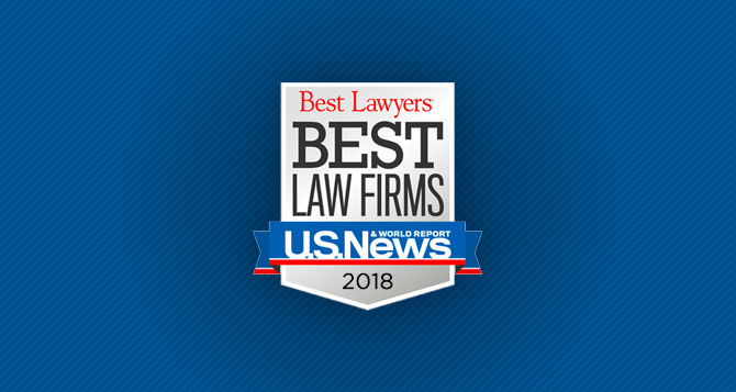 """PUBLIC RELEASE – November 1, 2017 – Yonke LawNamed To 2018""""Best Law Firms"""" List By Best Lawyers® And U.S. News & World Report"""