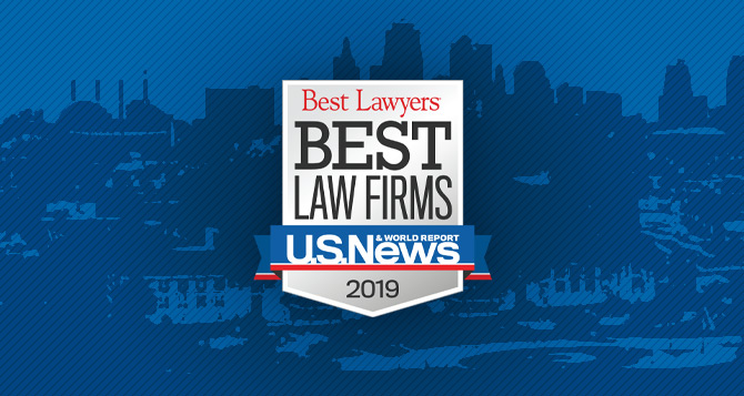 "PUBLIC RELEASE – November 1, 2018 – Yonke Law Named To 2019 ""Best Law Firms"" List By Best Lawyers® And U.S. News & World Report"