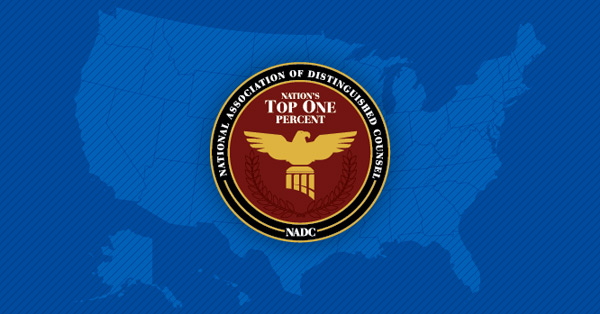 RELEASE: Mike Yonke Selected To The Nation's Top One Percent List By National Association Of Distinguished Counsel