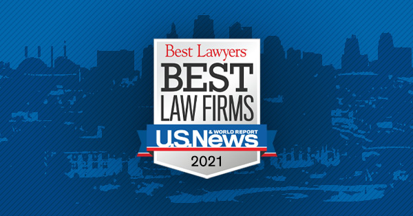 """PUBLIC RELEASE – Yonke Law Named To 2021 """"Best Law Firms"""" List By Best Lawyers® And U.S. News & World Report"""